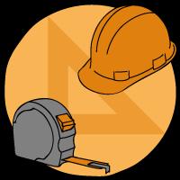 Icona tutor per ristrutturare