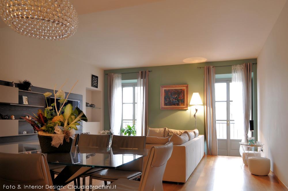 Soggiorno con cartongesso idee creative di interni e mobili for Salotto la veronica