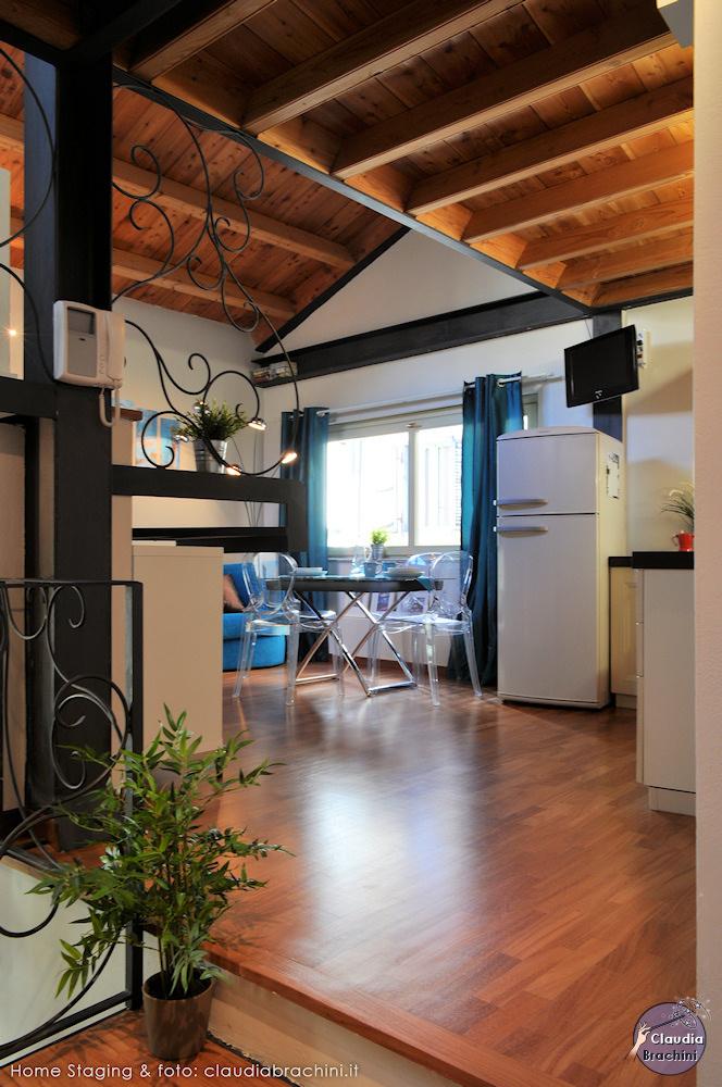 home staging cucina casa vacanze