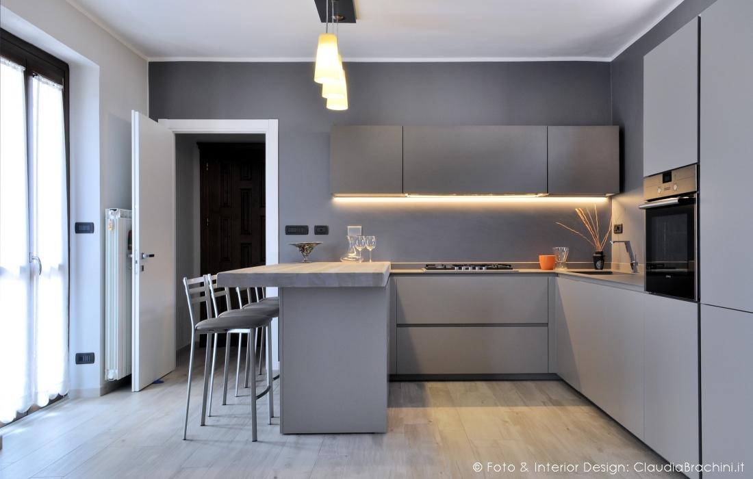 Interior design cucine claudia brachini torino - Penisola per cucina ...