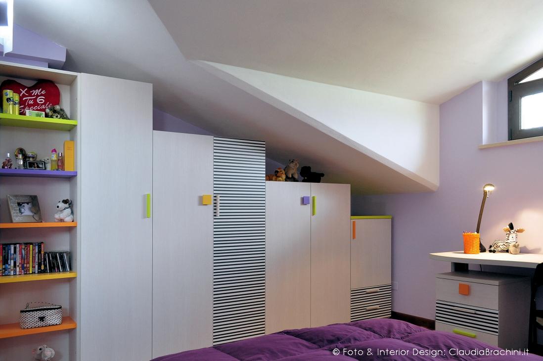 Interior design camerette claudia brachini torino - Camerette in mansarda ...