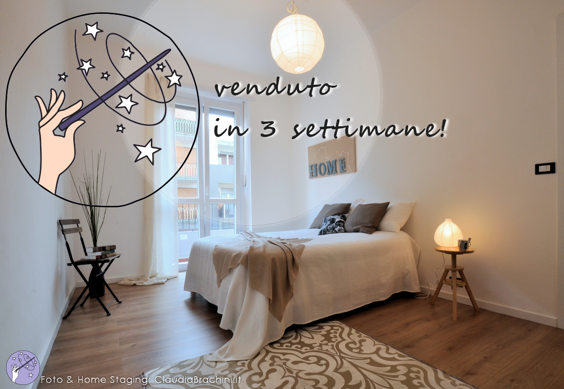 Home Staging - casa venduta velocemente - Claudia Brachini