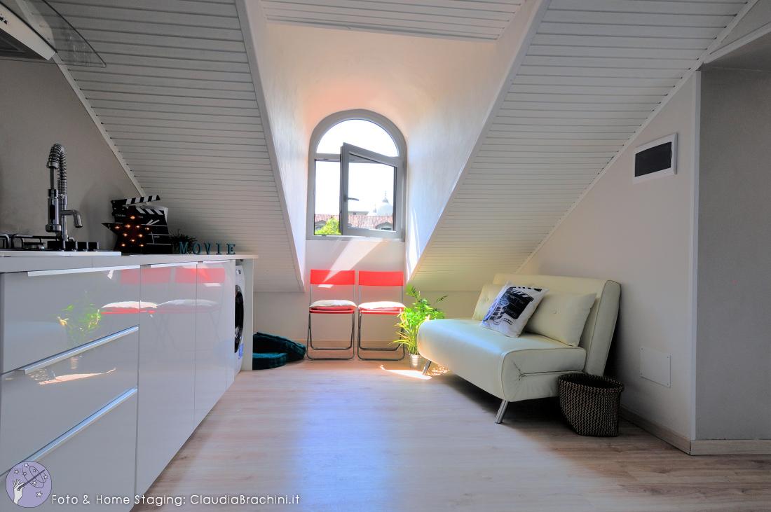 realizzazione appartamento per airbnb tema cinema claudia brachini torino. Black Bedroom Furniture Sets. Home Design Ideas