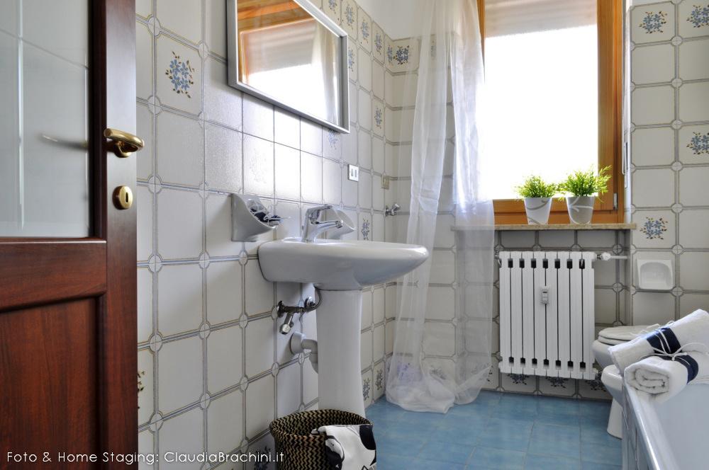 home staging con allestimento bagno