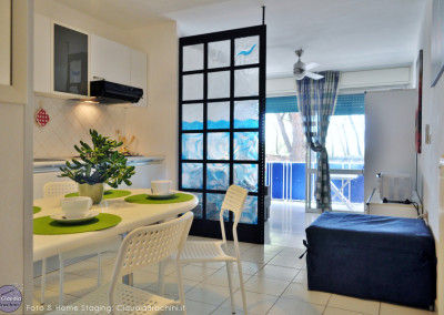 Home Staging monolocale al mare – Follonica (GR)