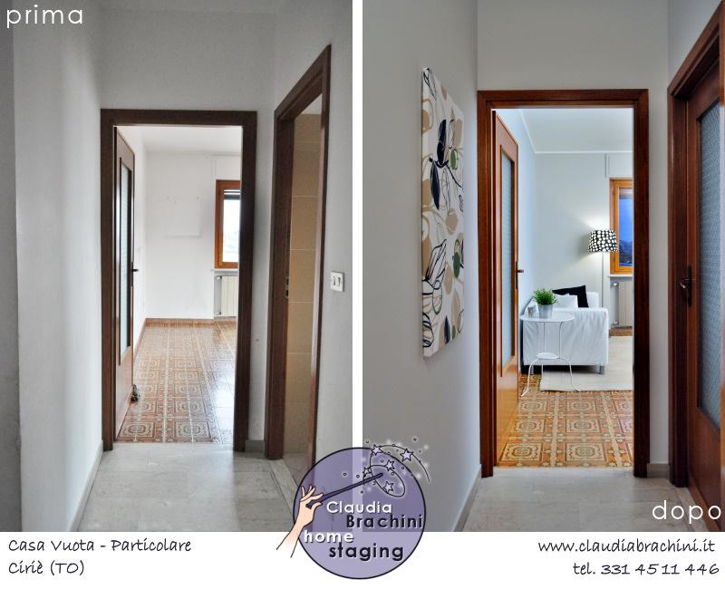prima e dopo home staging soggiorno