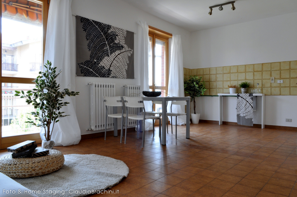 home staging con allestimento cucina