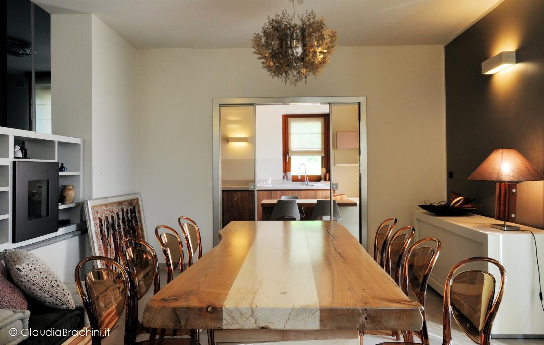soggiorno tavolo in legno