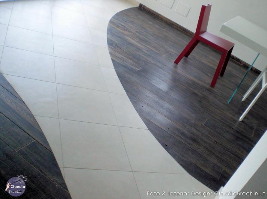 pavimento bi colore