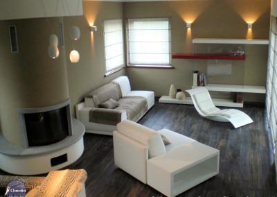 interior design soggiorno Claudia Brachini