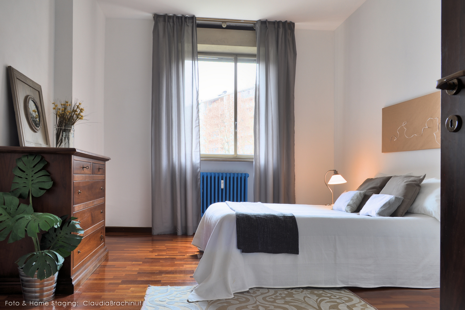 home staging camera da letto Claudia Brachini