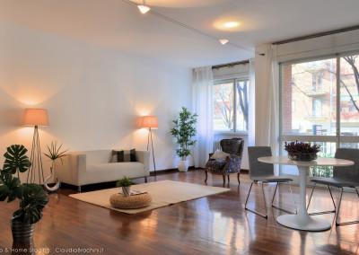 Home staging appartamento vuoto: Corso Orbassano