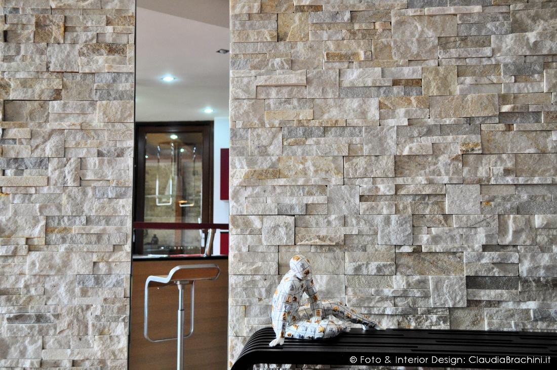 Appartamento con pareti in geopietra | Claudia Brachini | TORINO